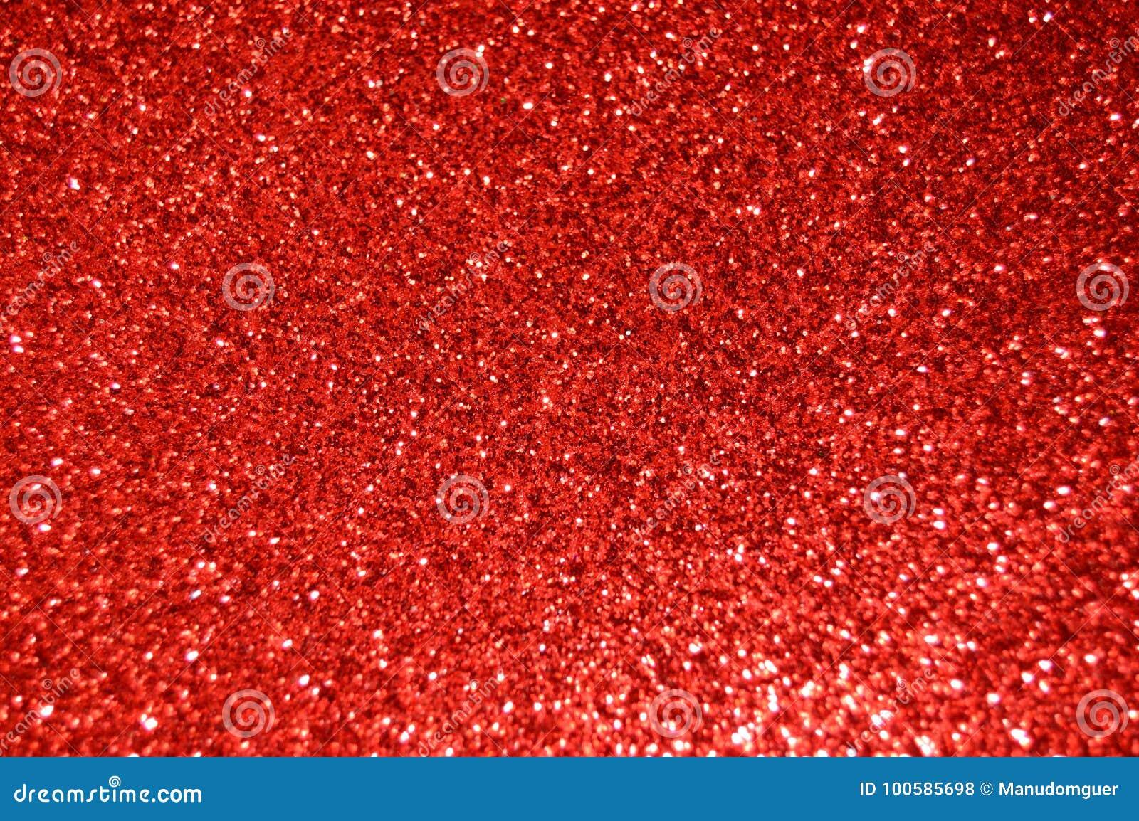 Het rood schittert achtergrond Vakantie, Kerstmis, Valentijnskaarten, Schoonheid en Spijkers abstracte textuur