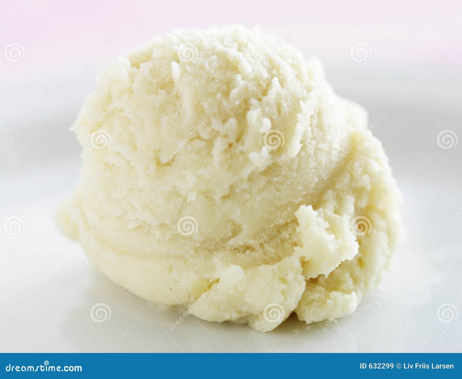 Het roomijs van de vanille