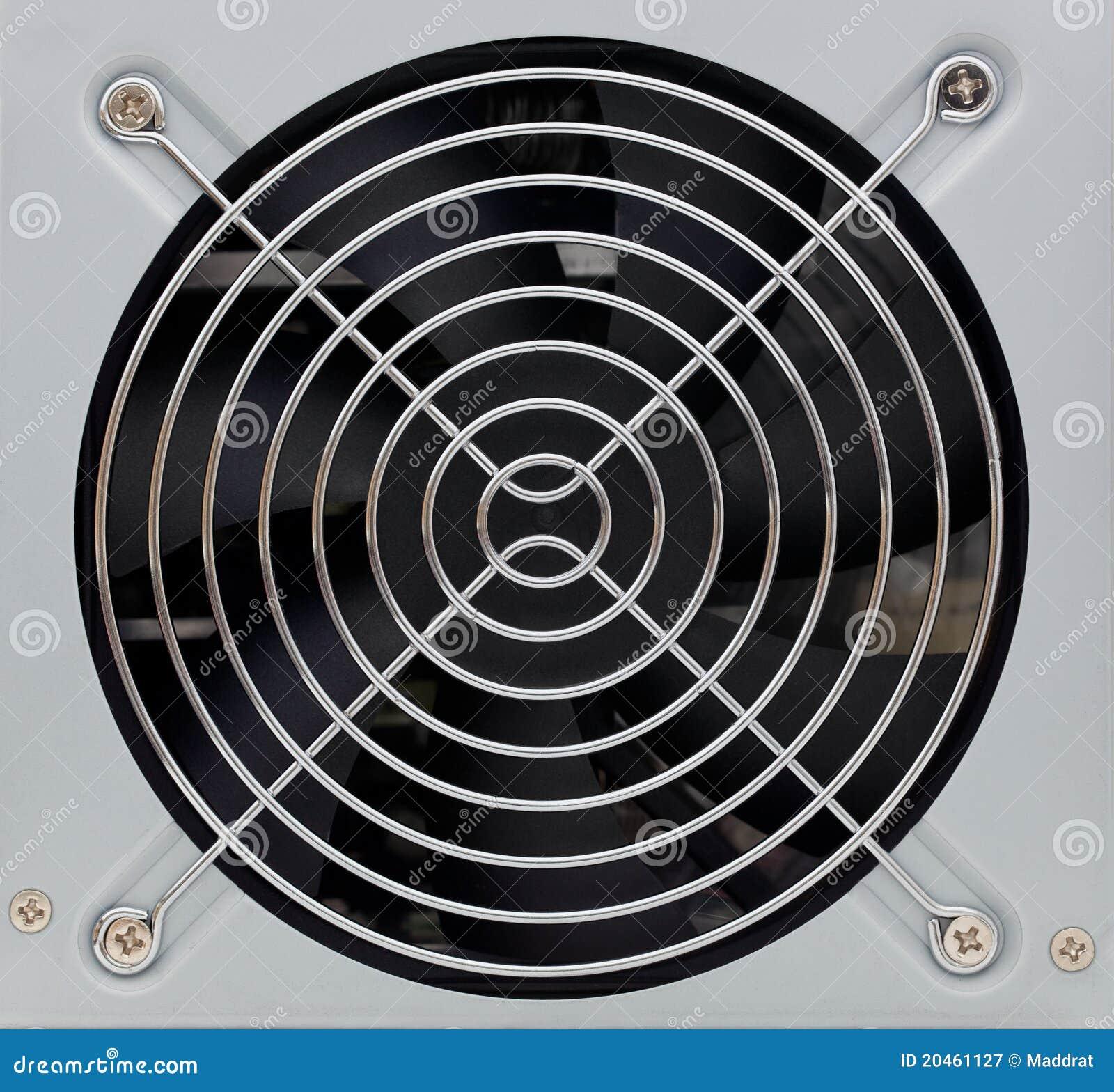 Het rooster van de ventilatie