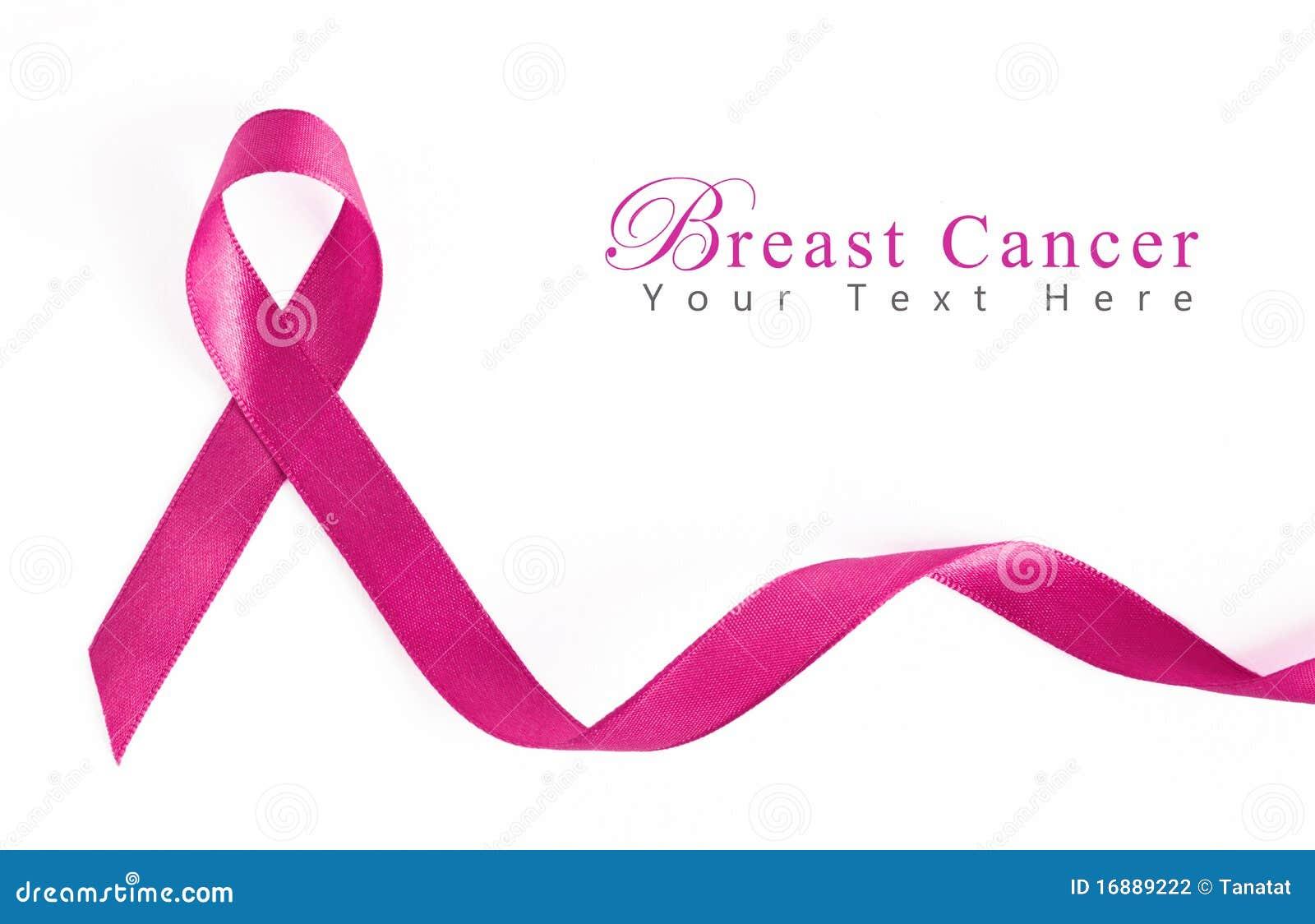 Het roze Lint van Kanker van de Borst