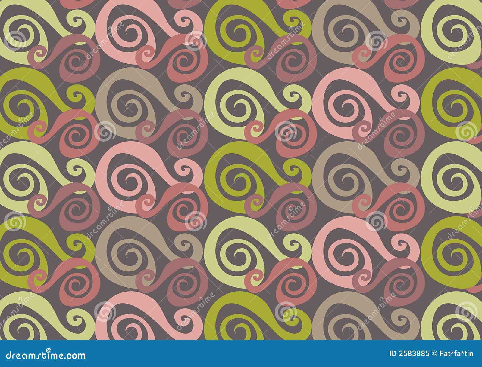 Het roze van Whirly en groen