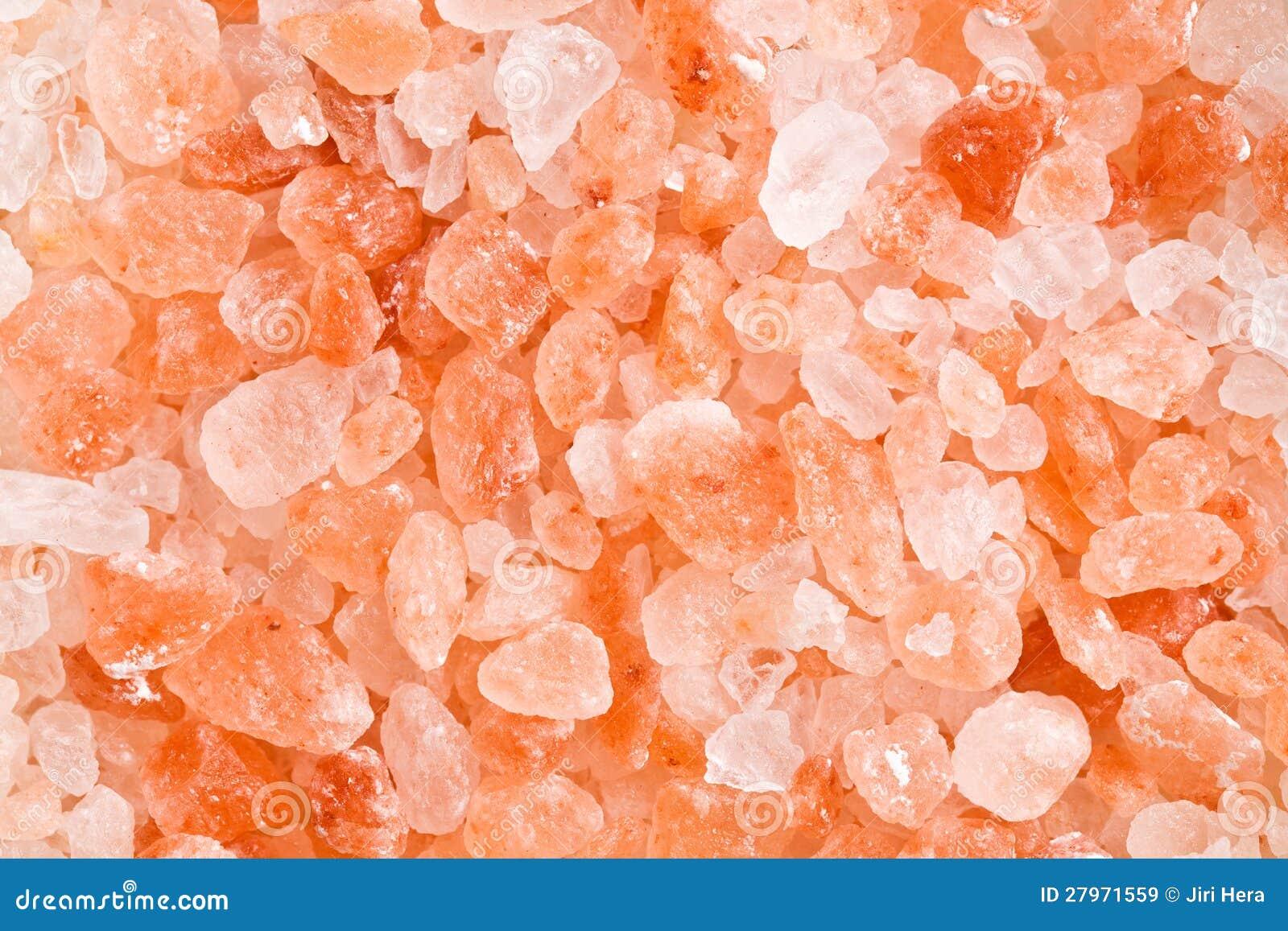 Het roze zout van Himalayan