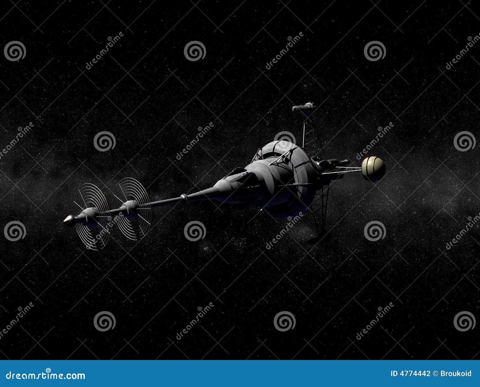 Het ruimteschip van Pointy