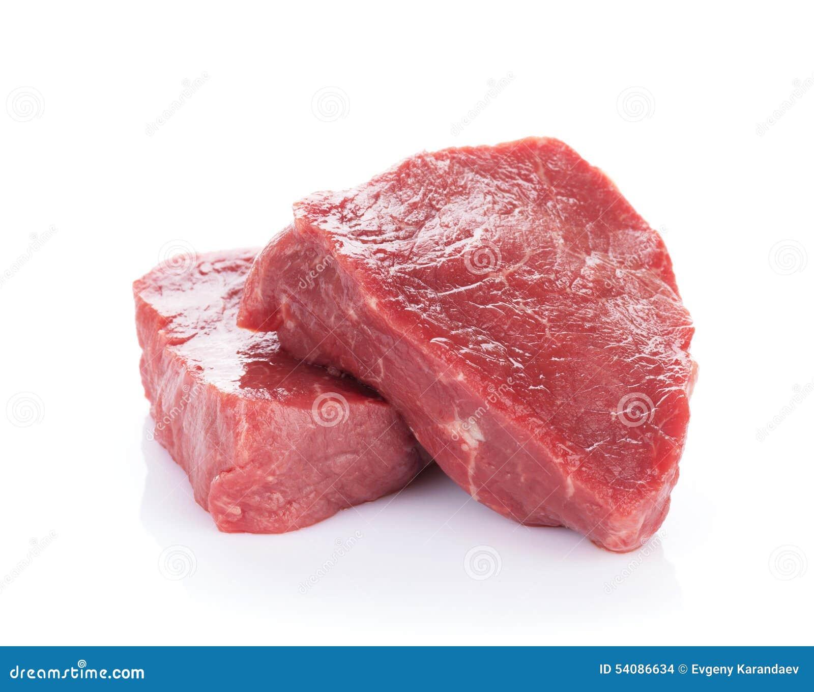 Het rundvleesvlees van het filetlapje vlees