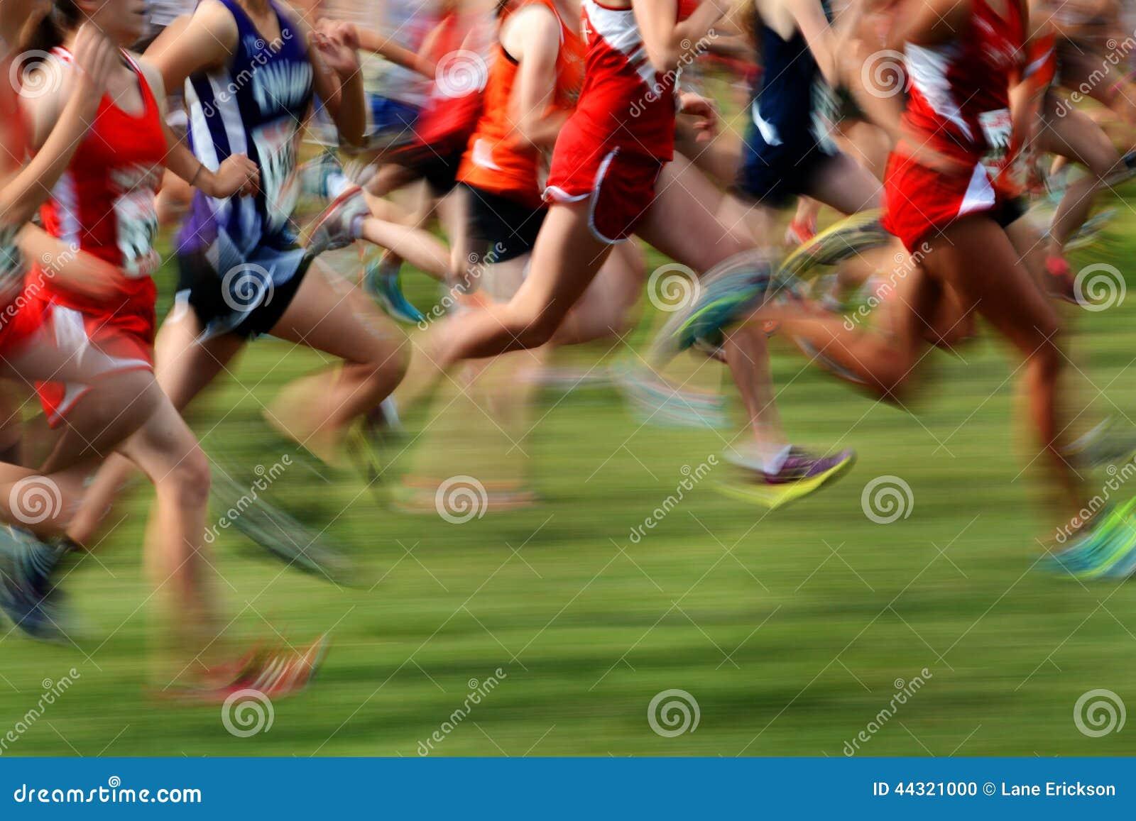 Het runnen van een Race in Motie