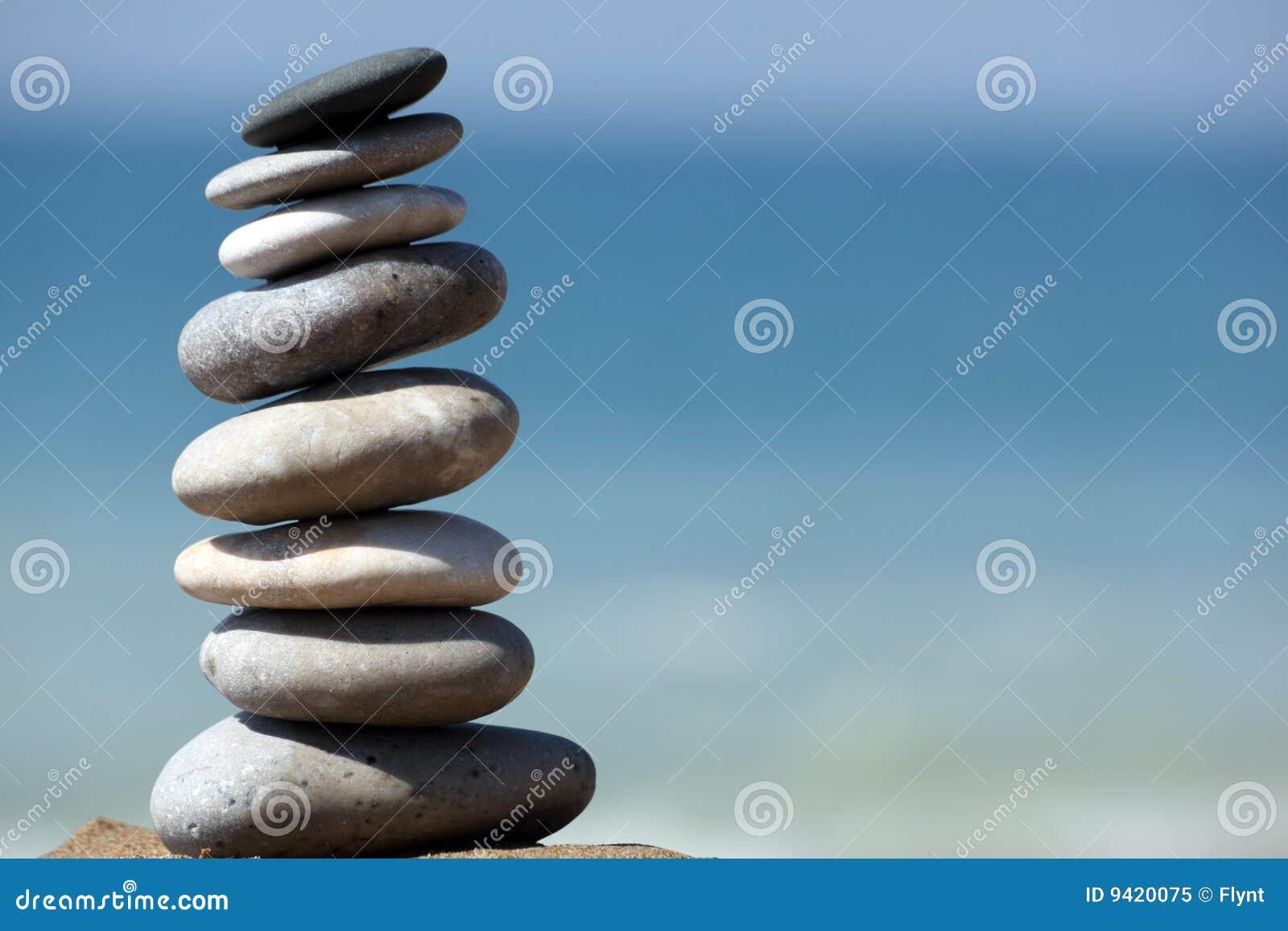 Het saldo van de steen