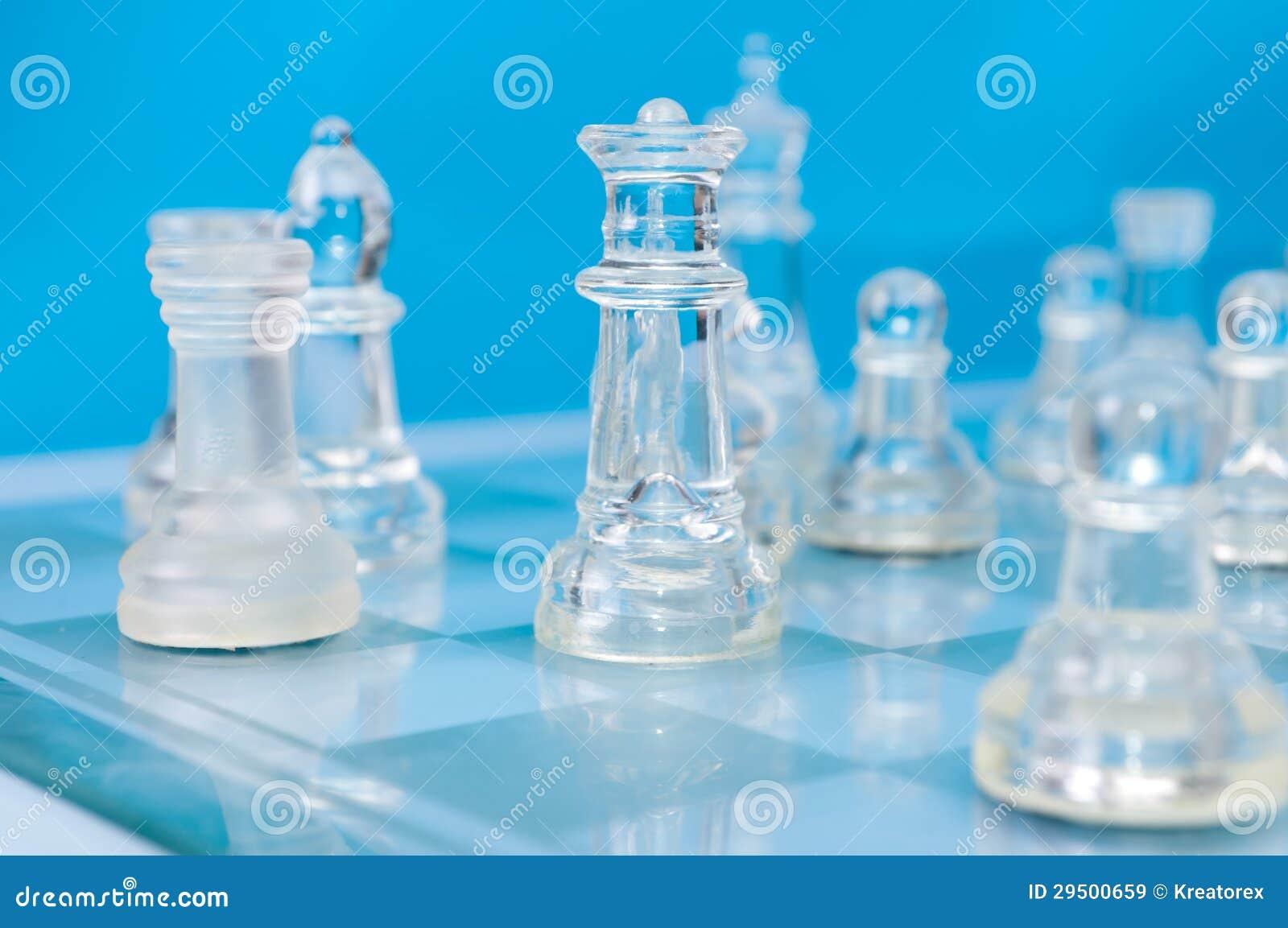 Het schaak van het glas