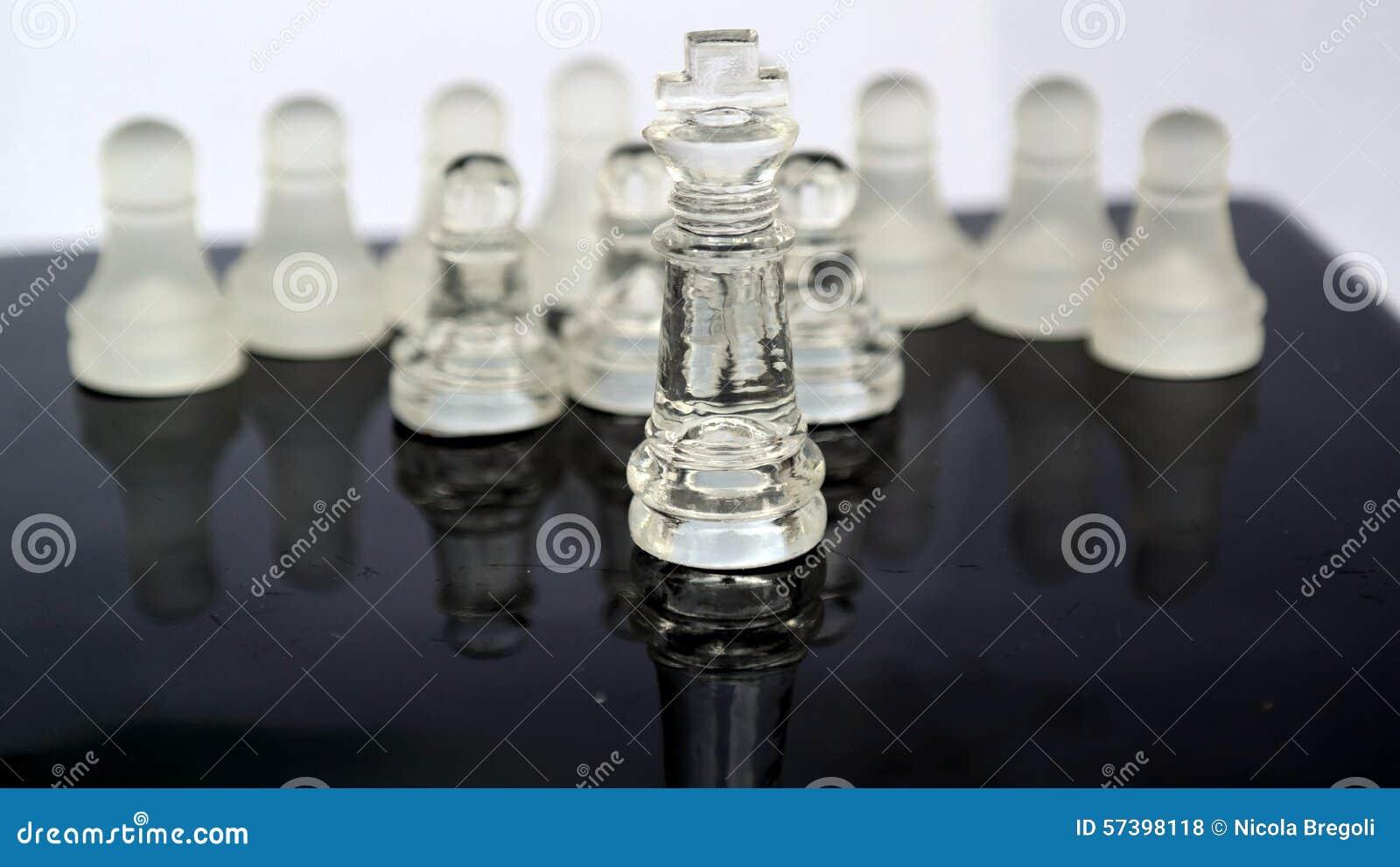 Het Schaak van het kristalglas