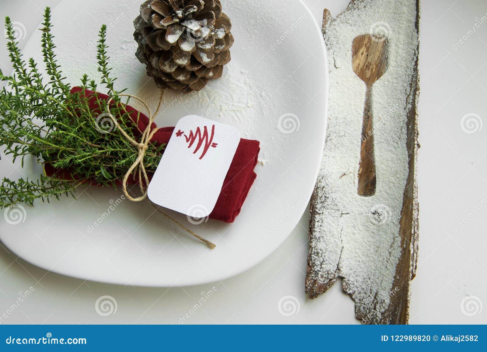 Het schikken van de lijst voor het concept van de de wintervakantie