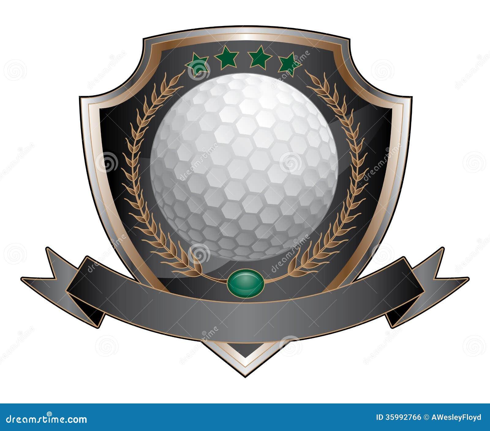Het Schild van het golfontwerp