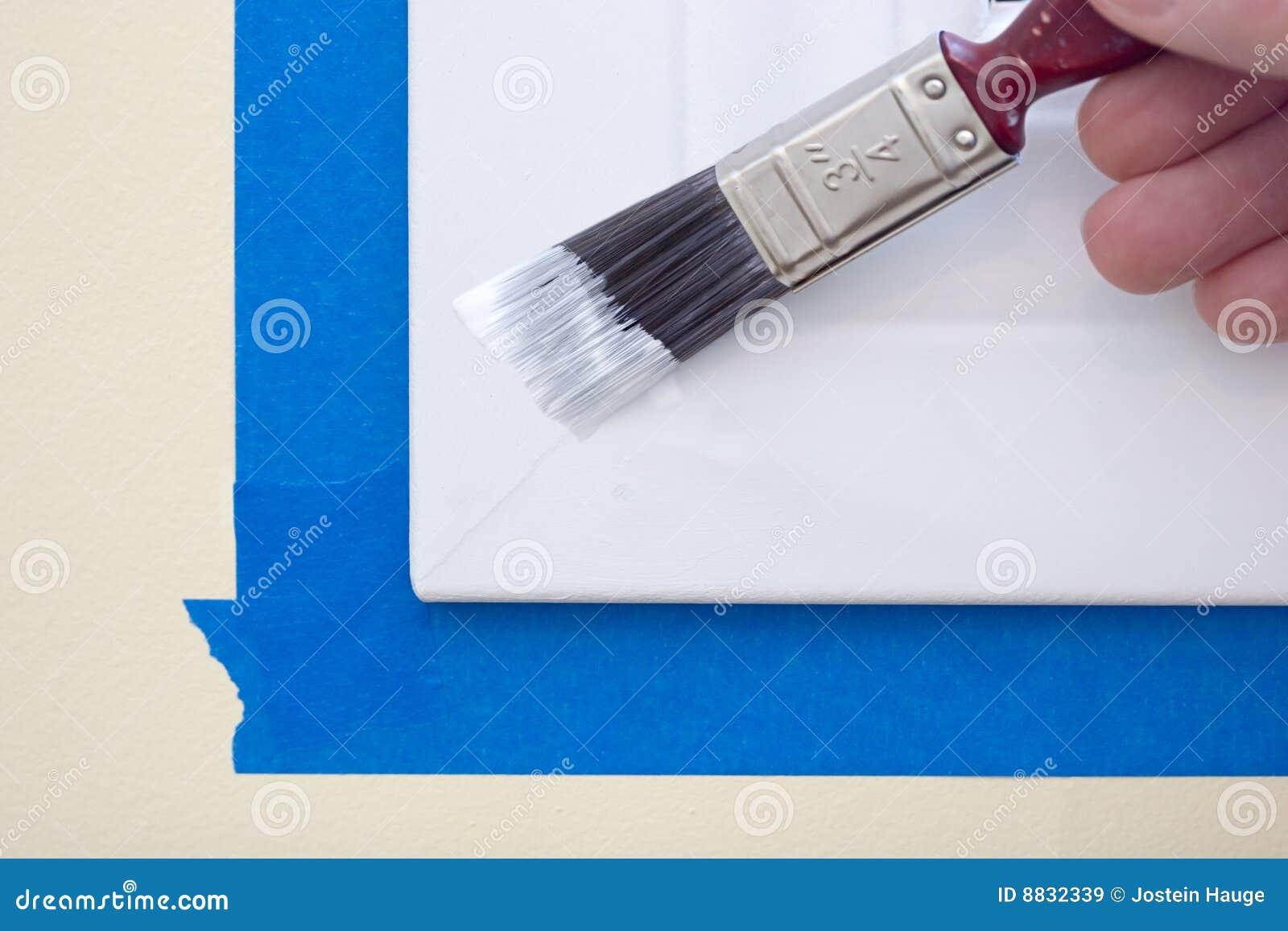 Het schilderen de Versiering van het Venster