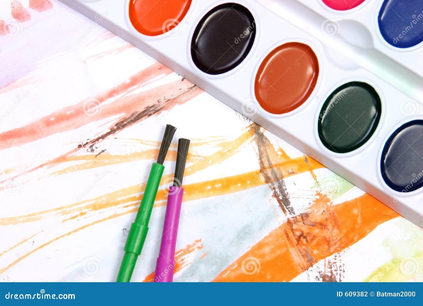 Het schilderen van de waterverf