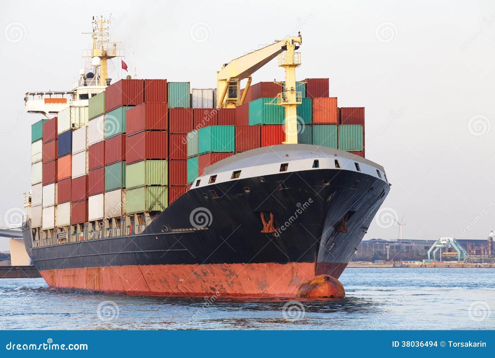 Het schip van de ladingsvracht