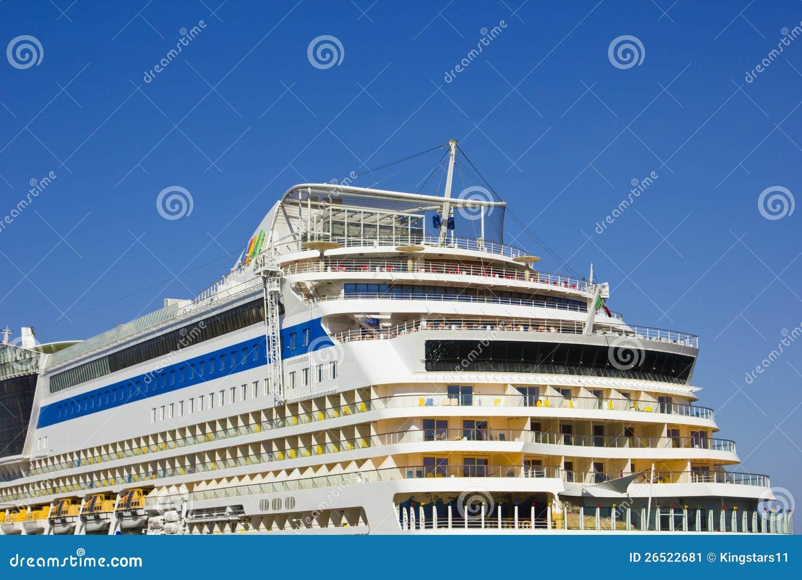 Het schip van de passagier AIDA