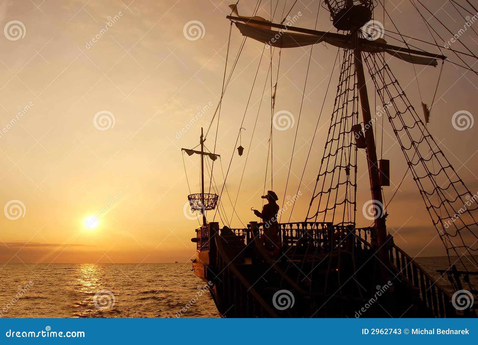 Het schip van de piraat