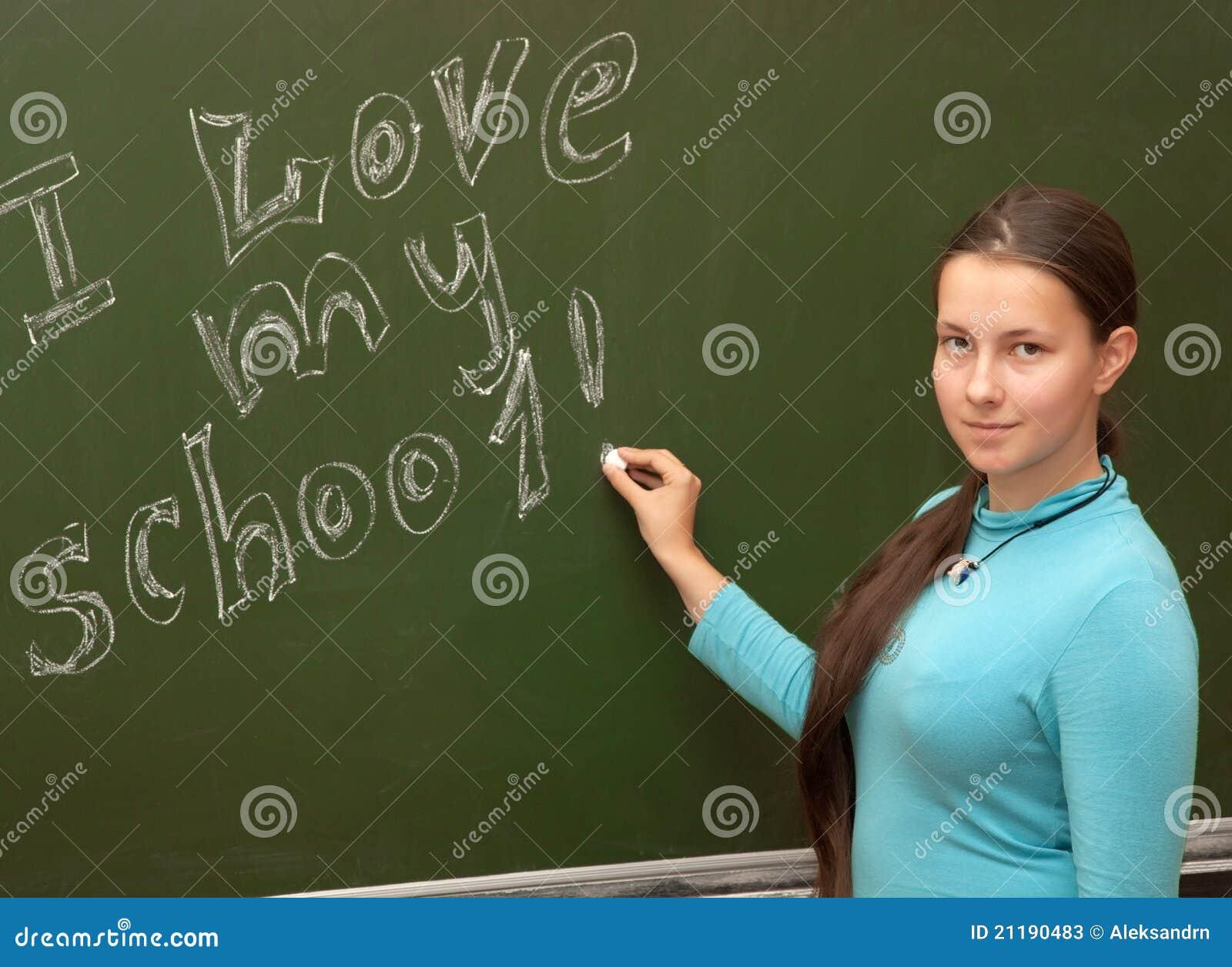 Het schoolmeisje van het meisje ontmoet een engelse les stock foto 39 s beeld 21190483 - Beeld het meisje van ...