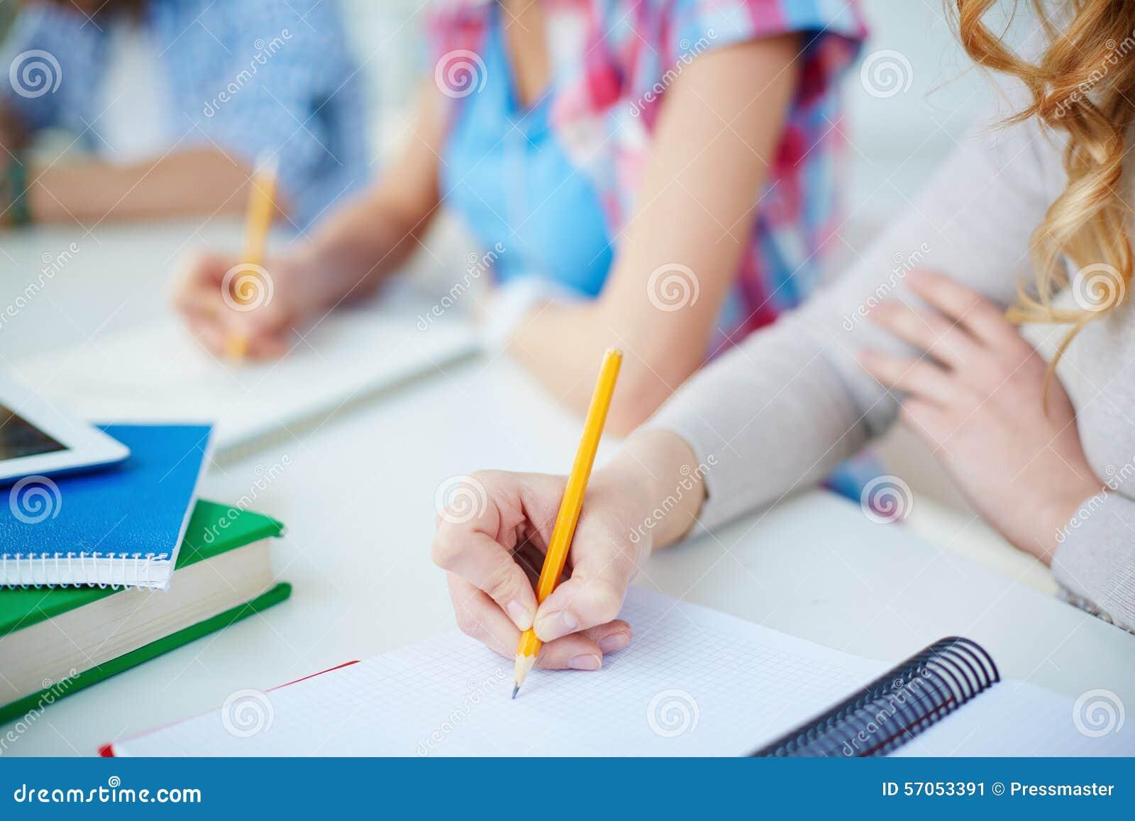 Het schrijven lezing