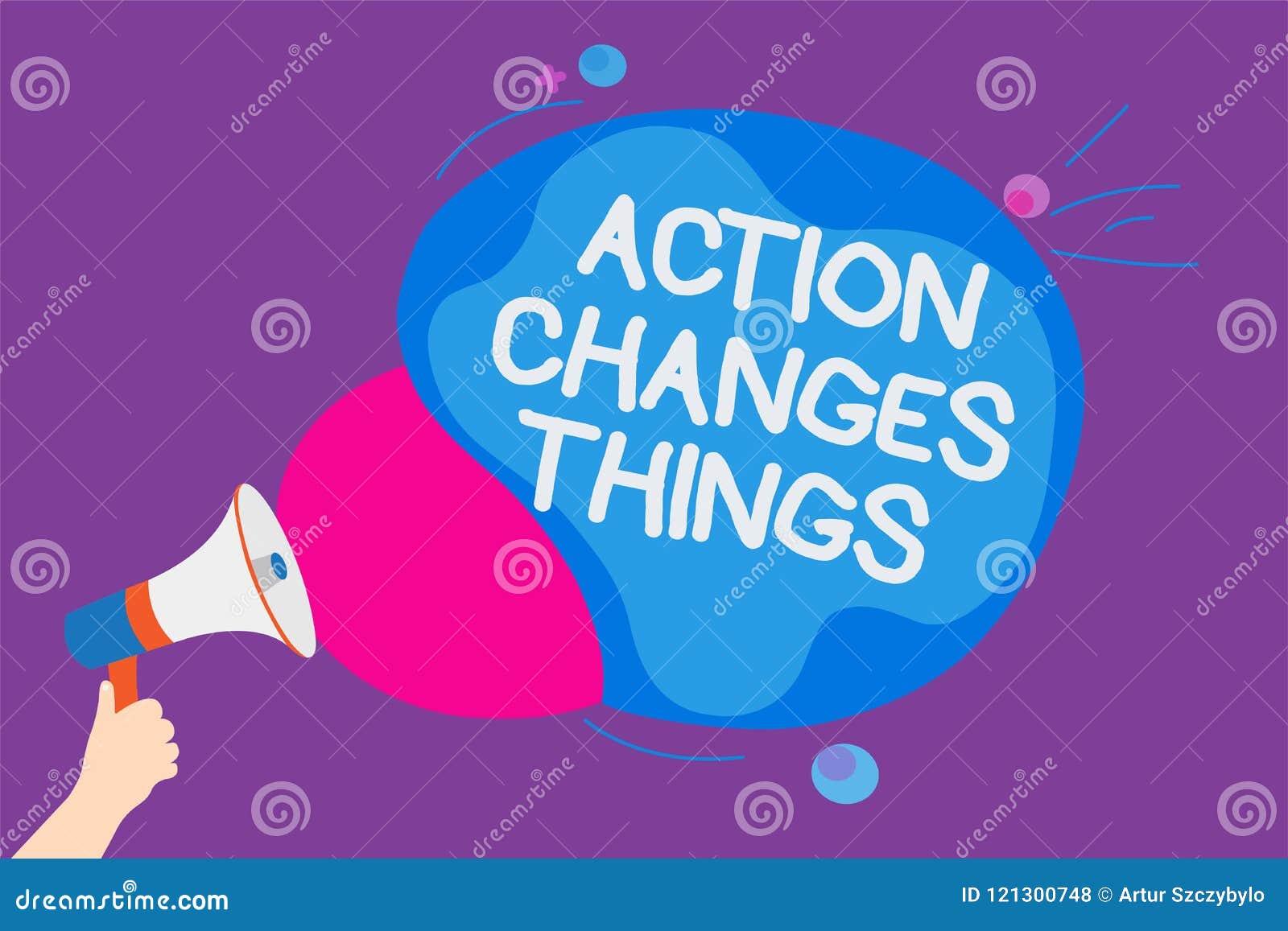 Het schrijven nota die de Dingen van Actieveranderingen tonen De bedrijfsfoto die doend iets demonstreren zal nadenken andere din