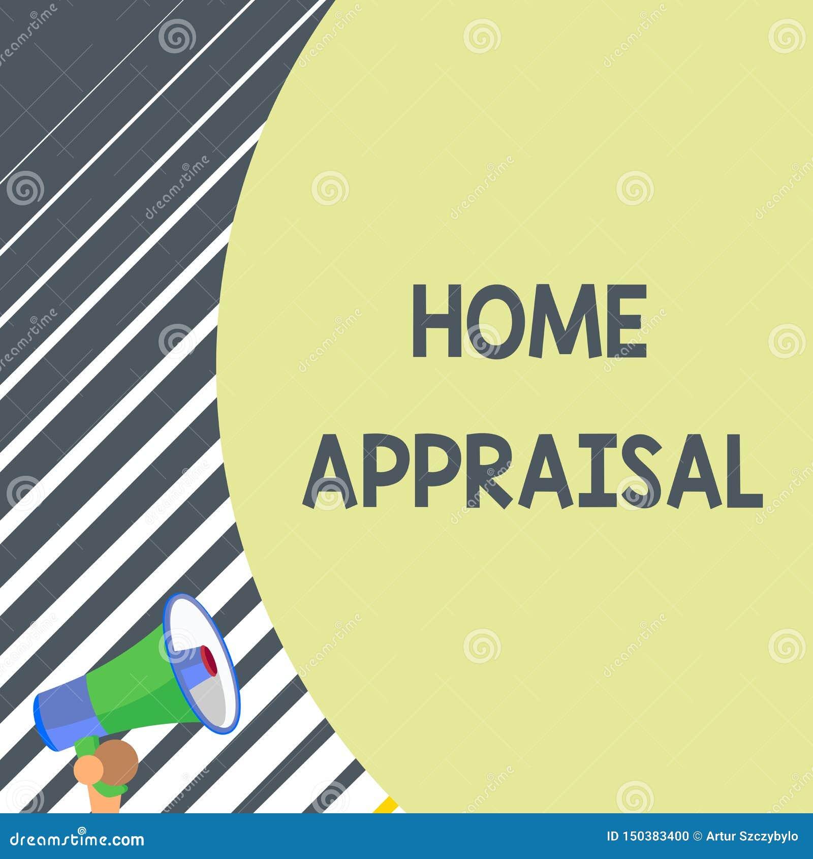 Het schrijven nota die Huisschatting tonen De bedrijfsfoto demonstratie bepaalt echte waard en de Evaluatie van bezit