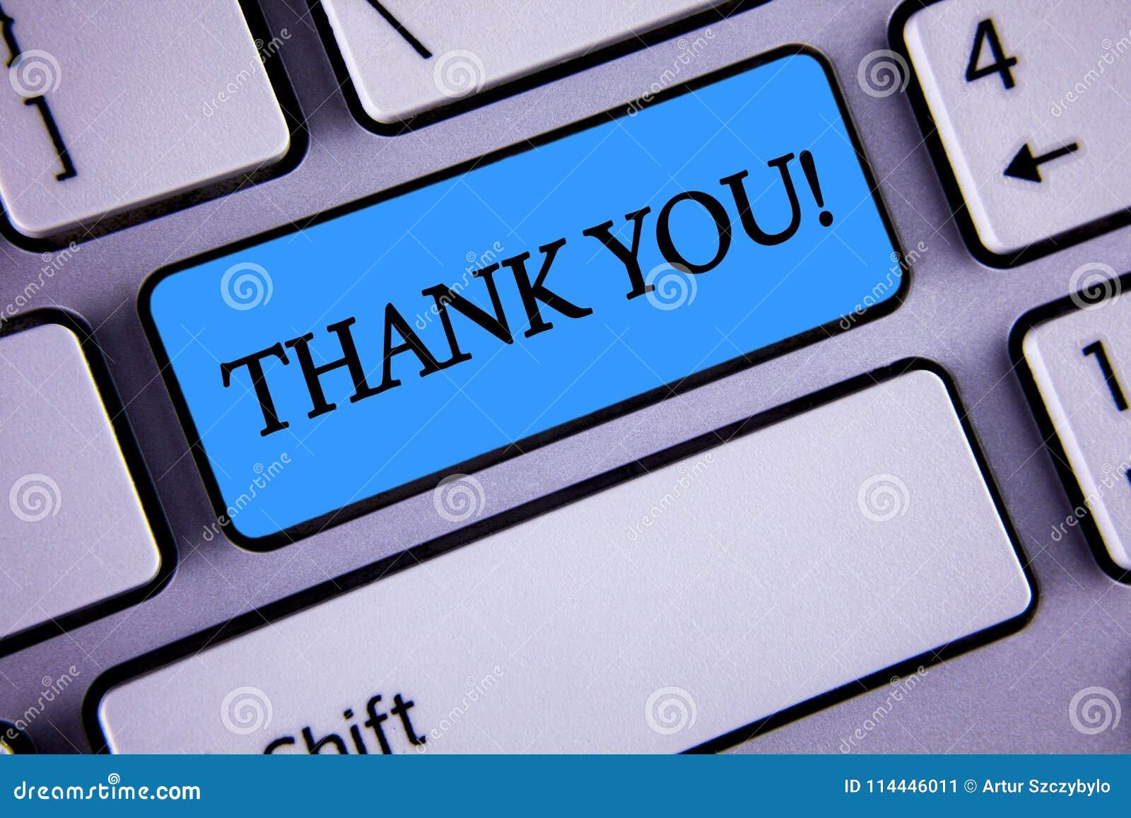 Het schrijven nota het tonen dankt u Motievenvraag De Dankbaarheid van de de groeterkenning van de bedrijfsfoto demonstratieappre