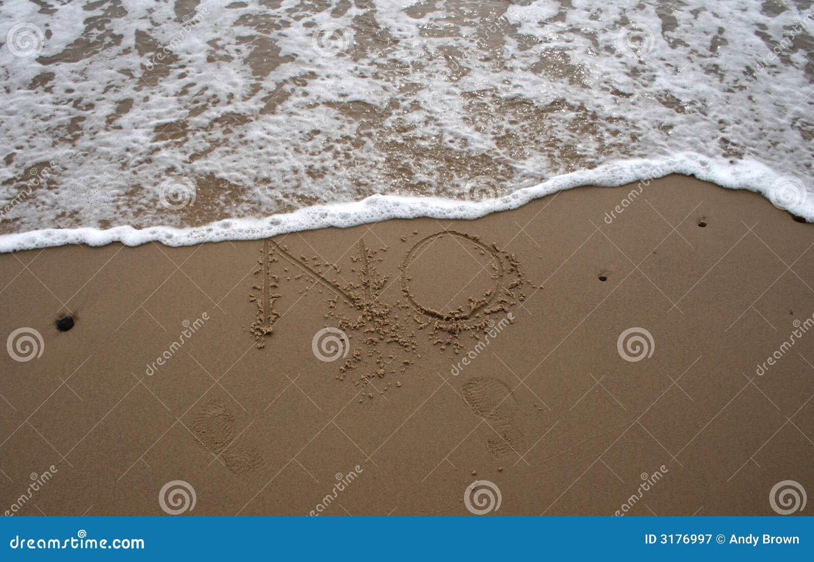 Het schrijven van het zand - nr 2