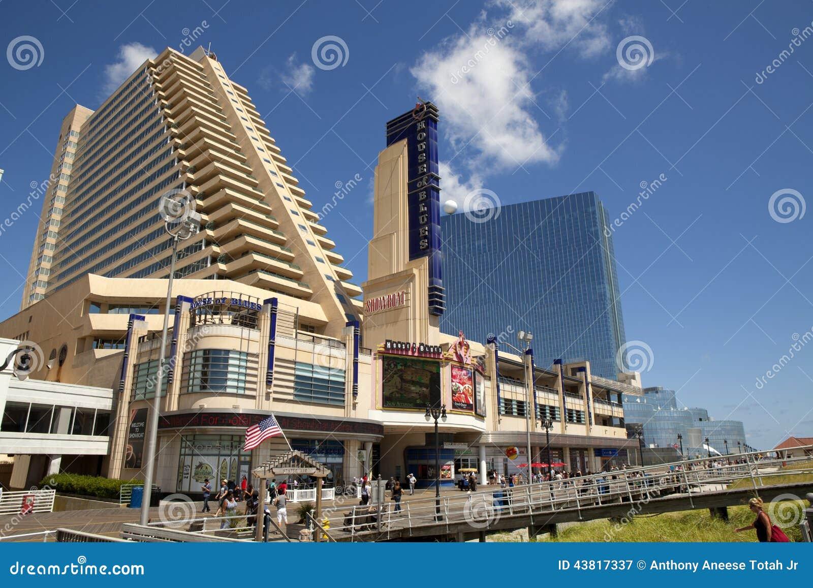 Het Showboat-Casino in Atlantic City, New Jersey