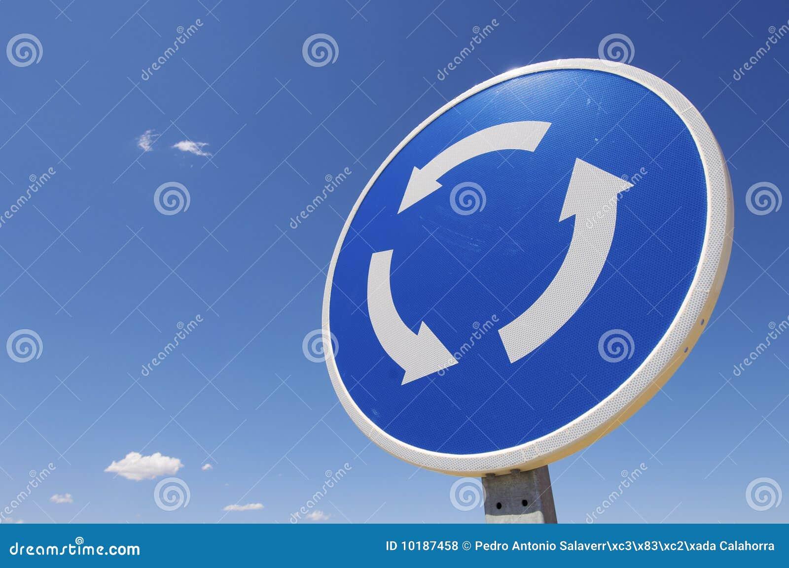 Het signaal van de rotonde