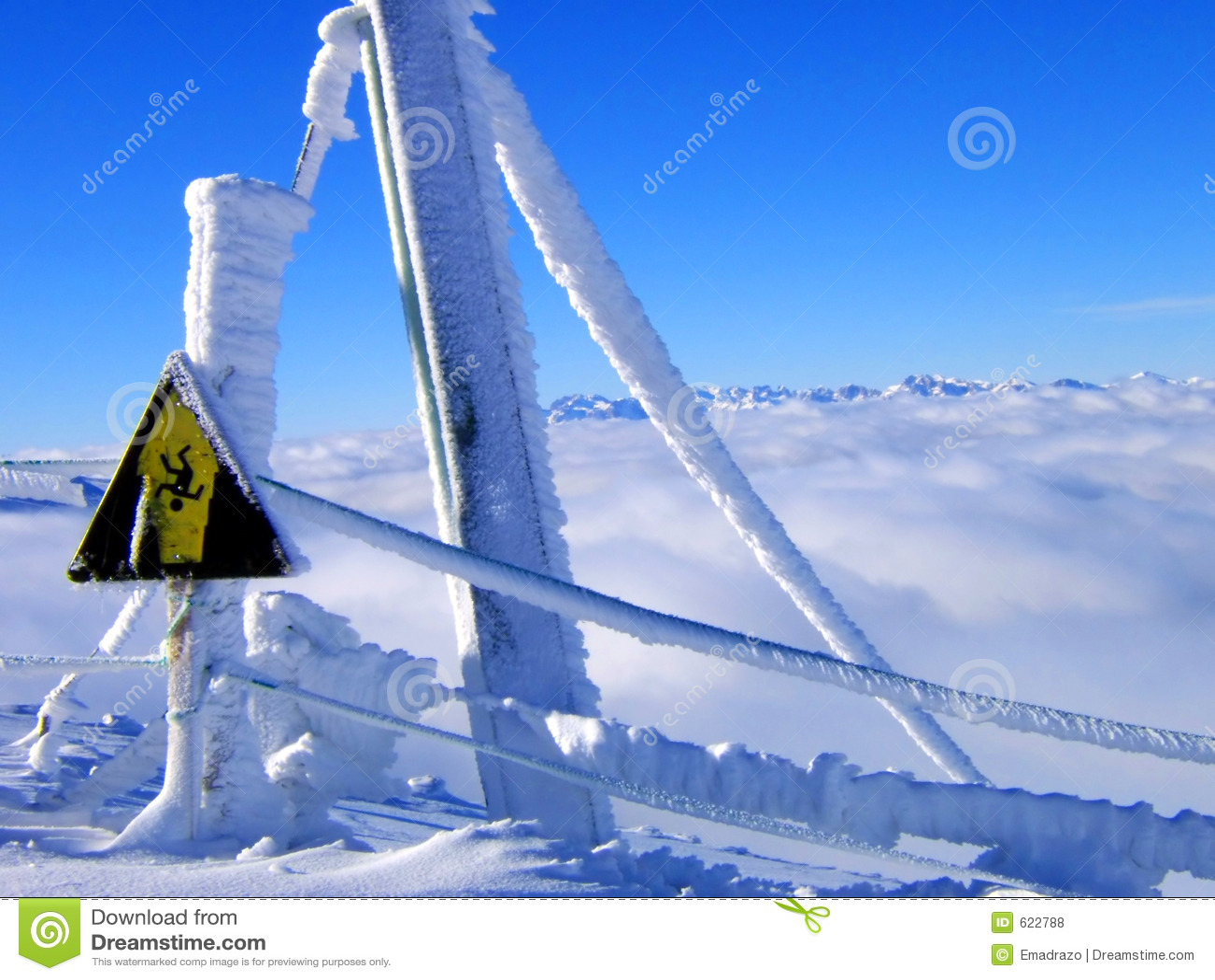 Het signaal van de sneeuw