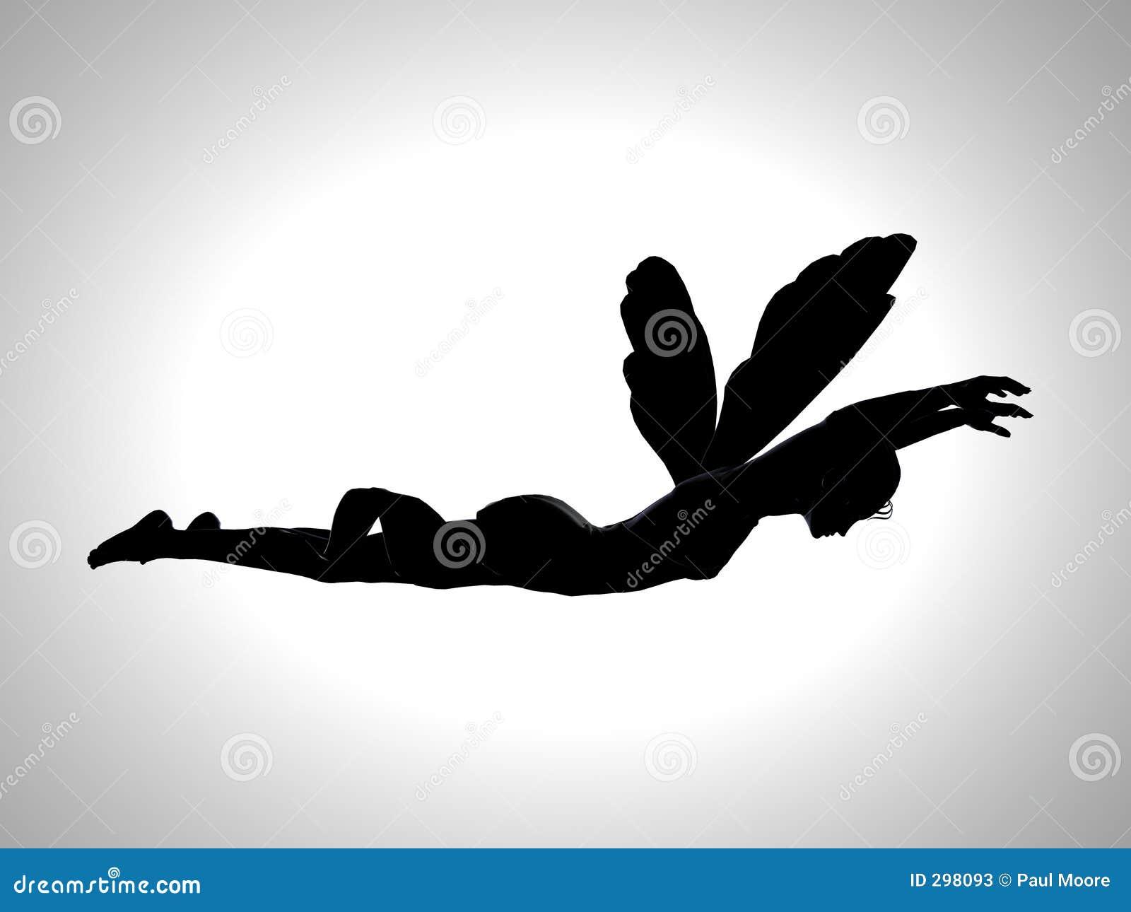 Het Silhouet van de Vlek van de fee