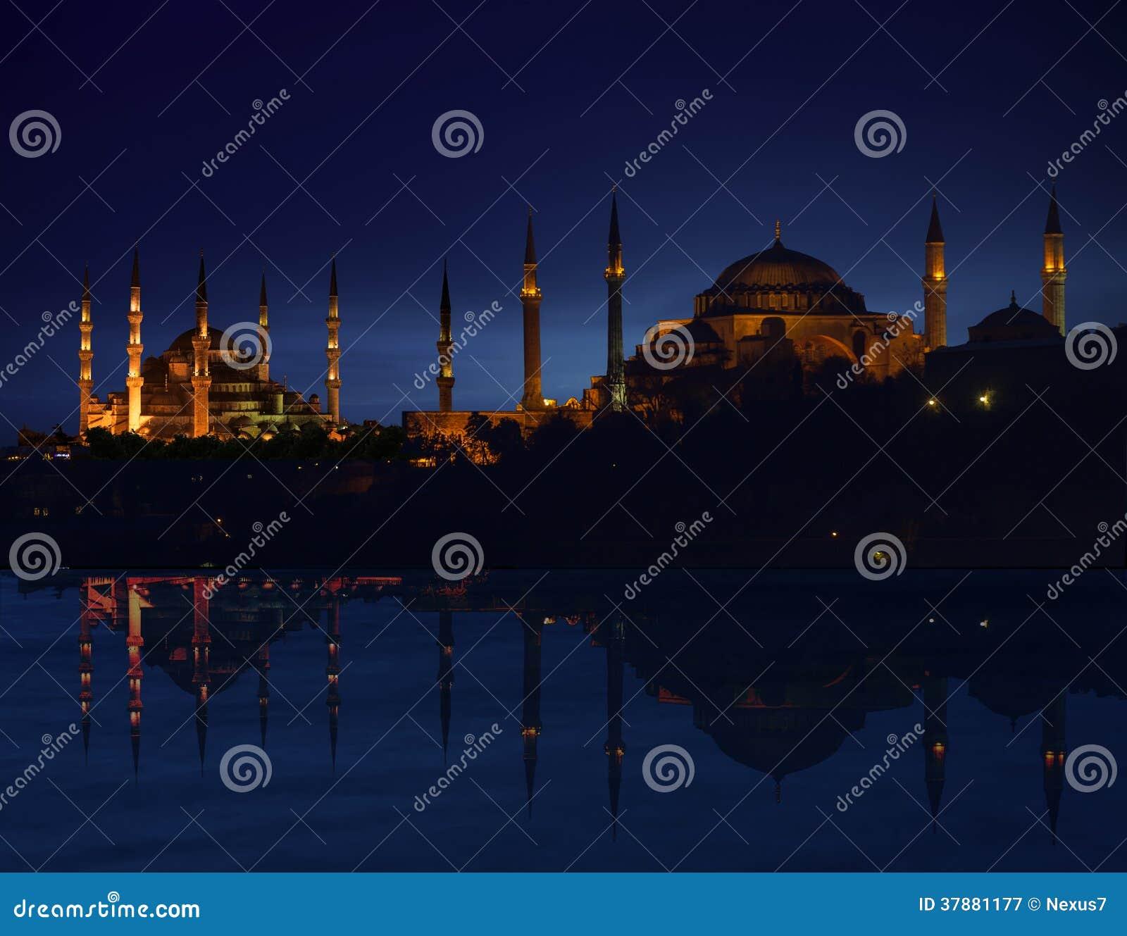 Het Silhouet van Istanboel