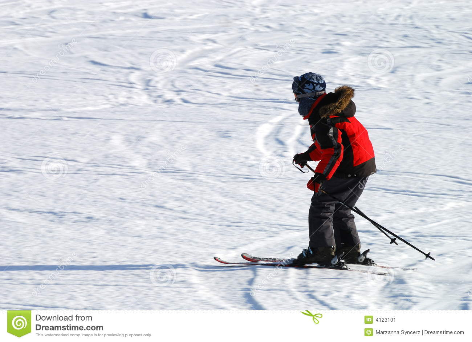 Het skiån van de jongen