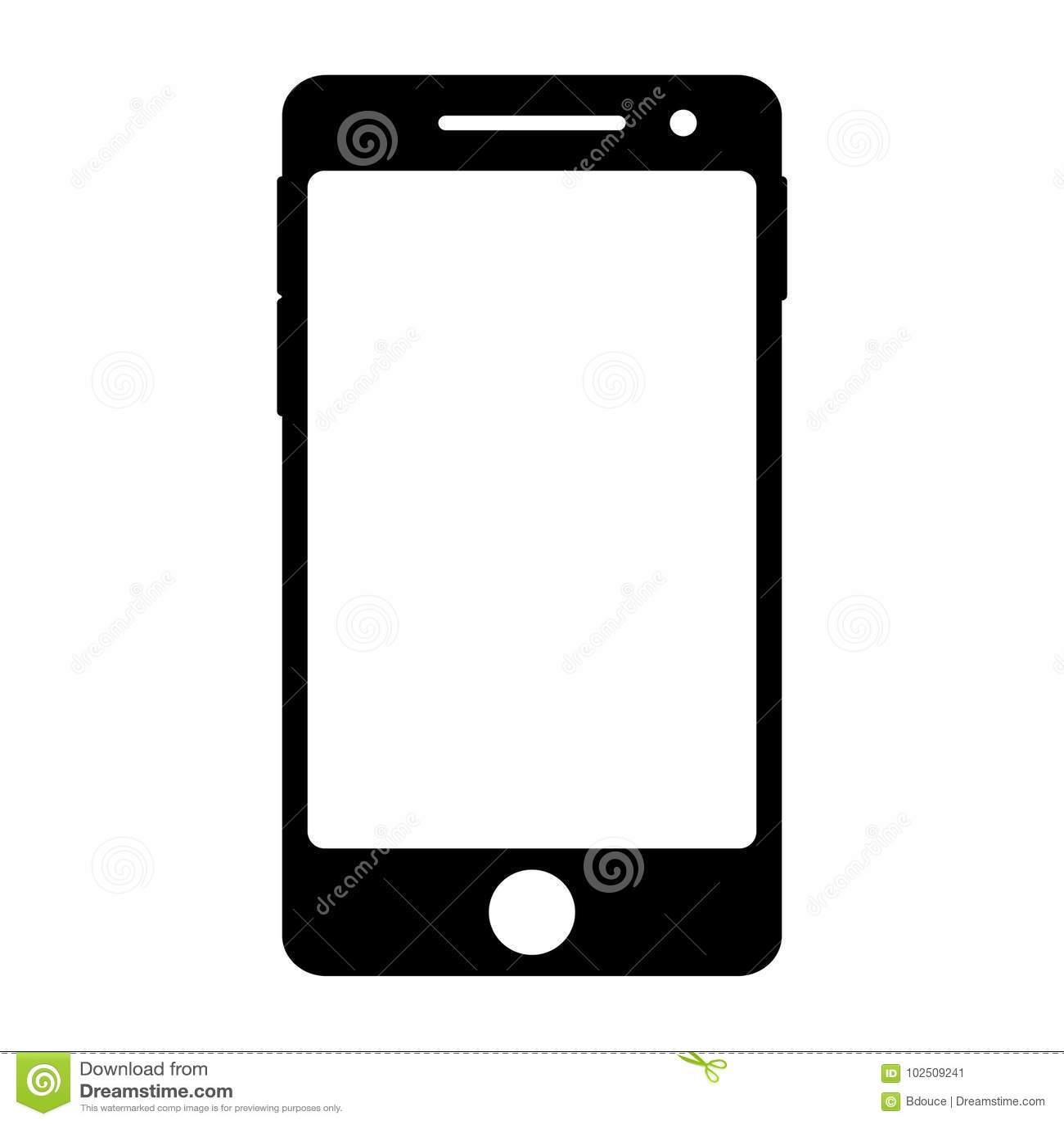 Het slimme Pictogram van de Telefoon