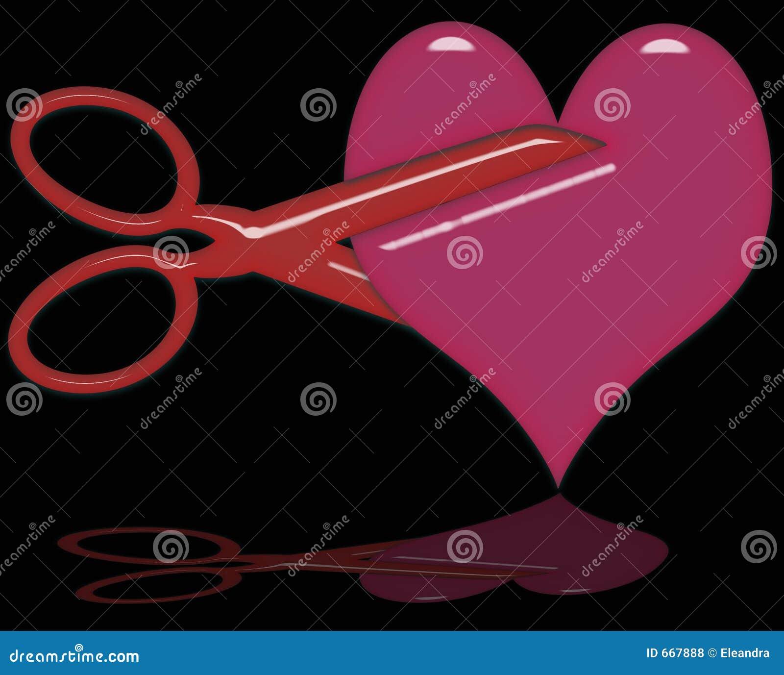 Het snijden van een Hart