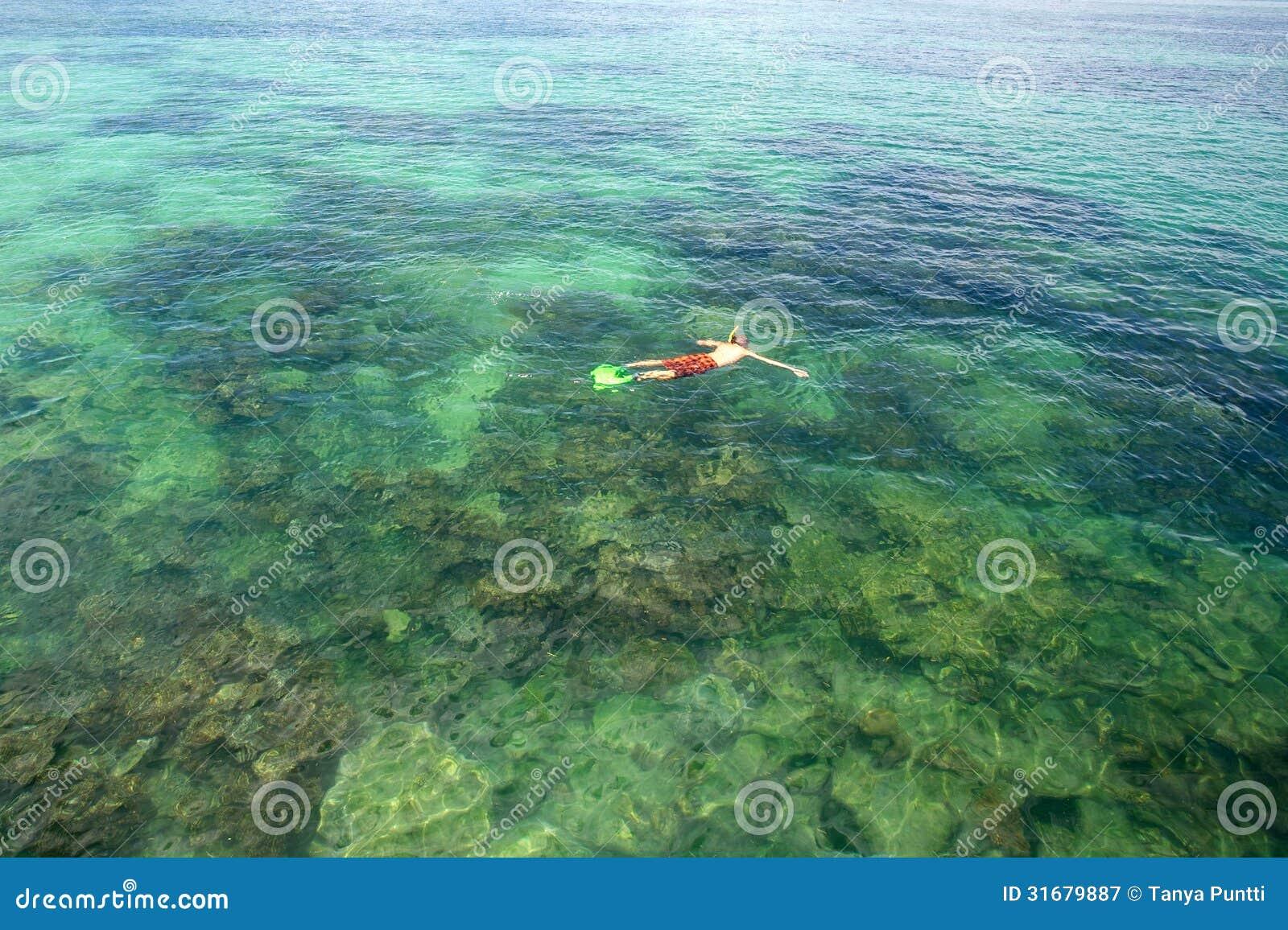 Het snorkelen