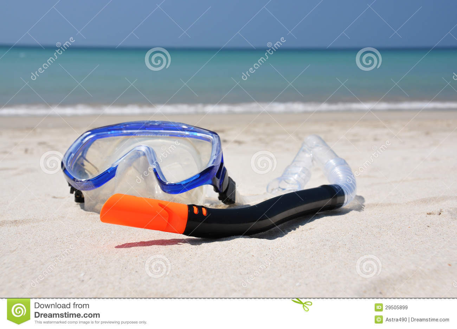 Het snorkelen reeks