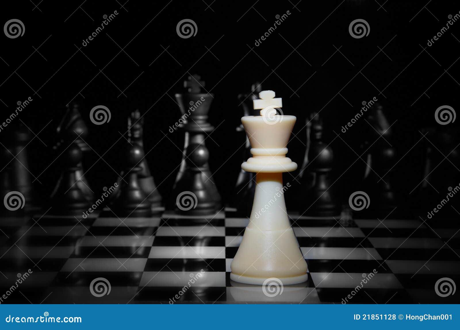 Het Spel van het Schaak van de strategie