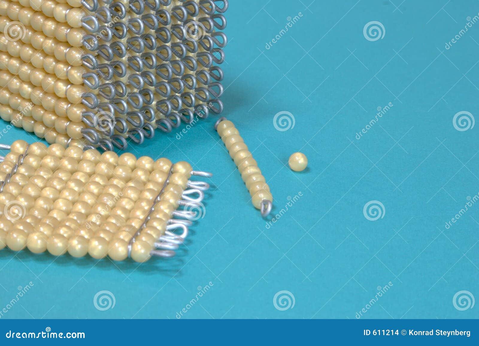Het spelen met parels