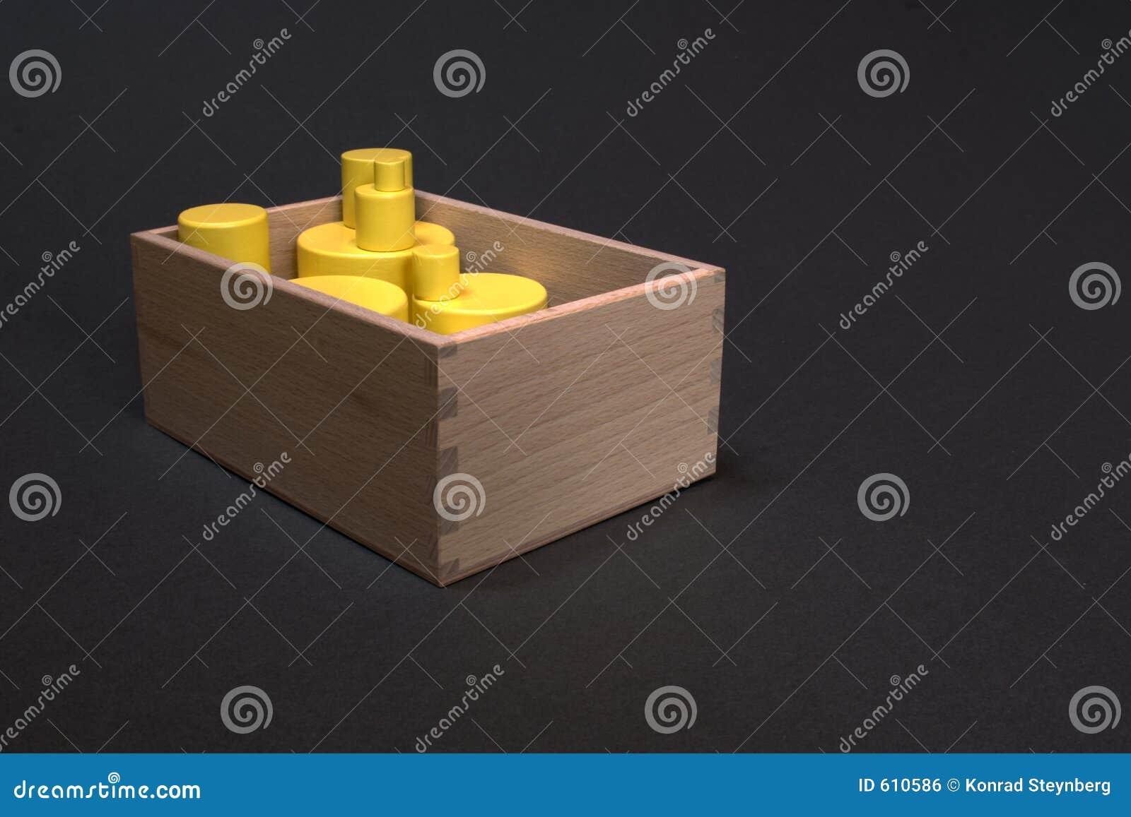 Het spelen met vormen