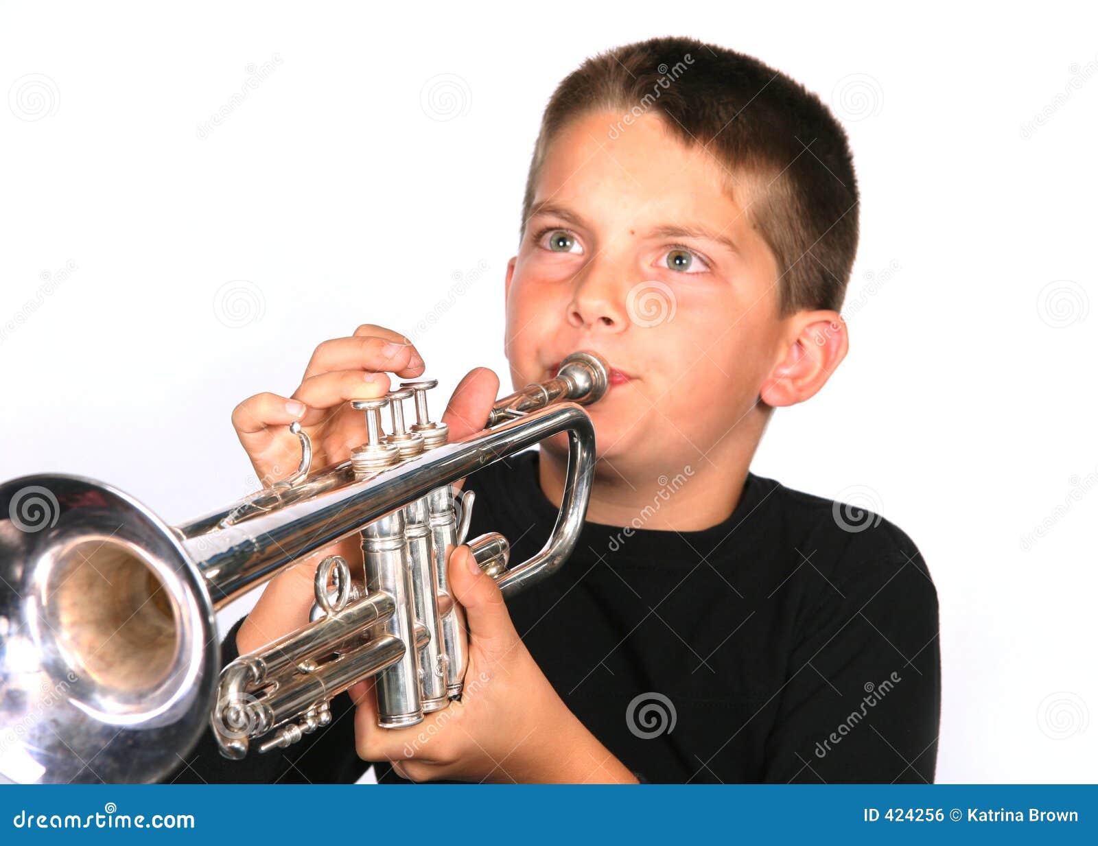 Het Spelen van de jeugd Trompet