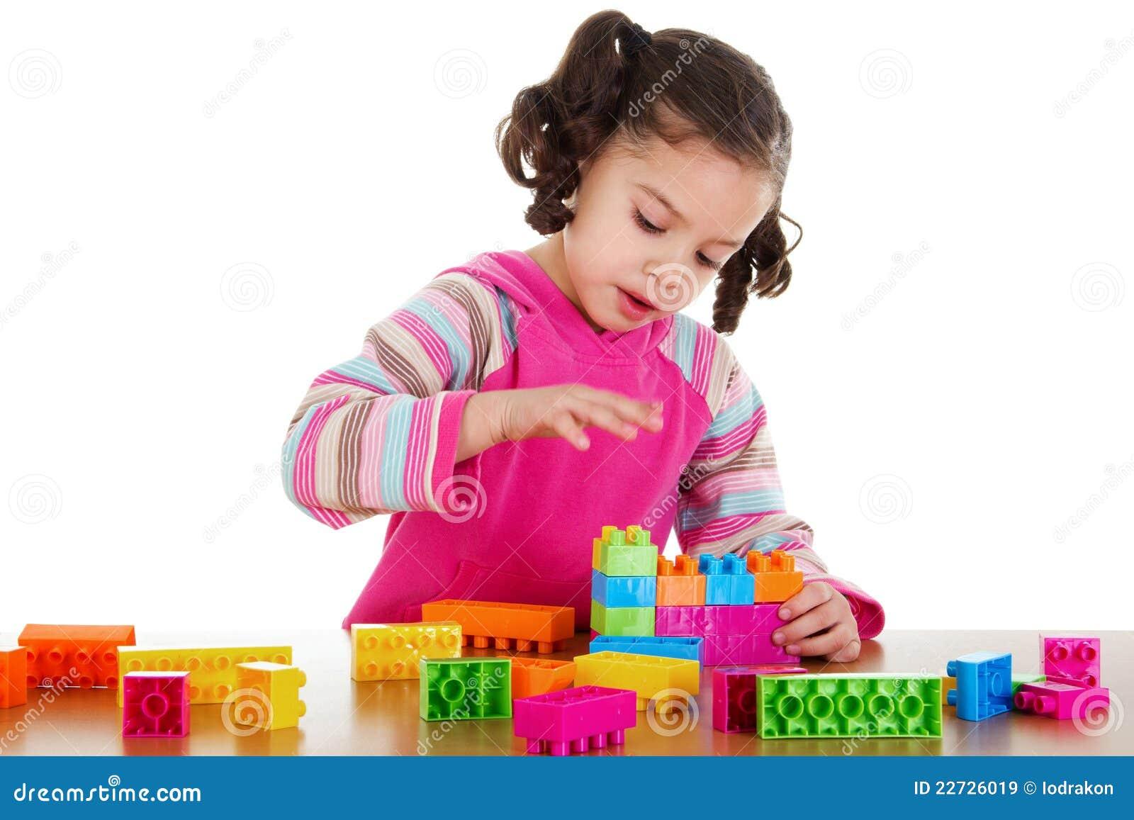 Het spelen van de kleuter royalty vrije stock afbeeldingen afbeelding 22726019 - Beeld het meisje van ...