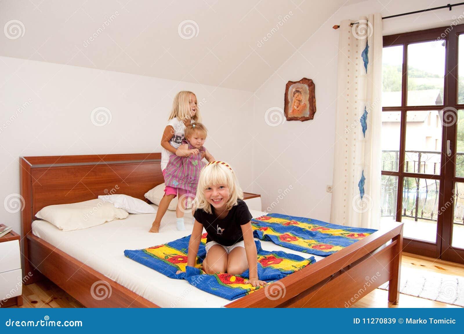 Het spelen van meisjes