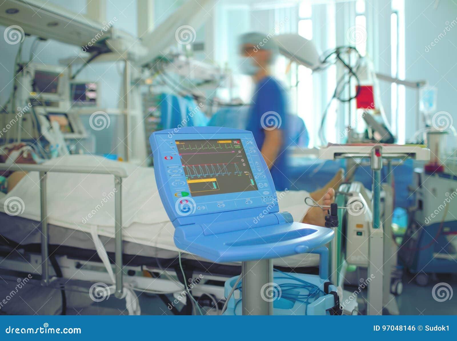 Het spoedwerk in ICU