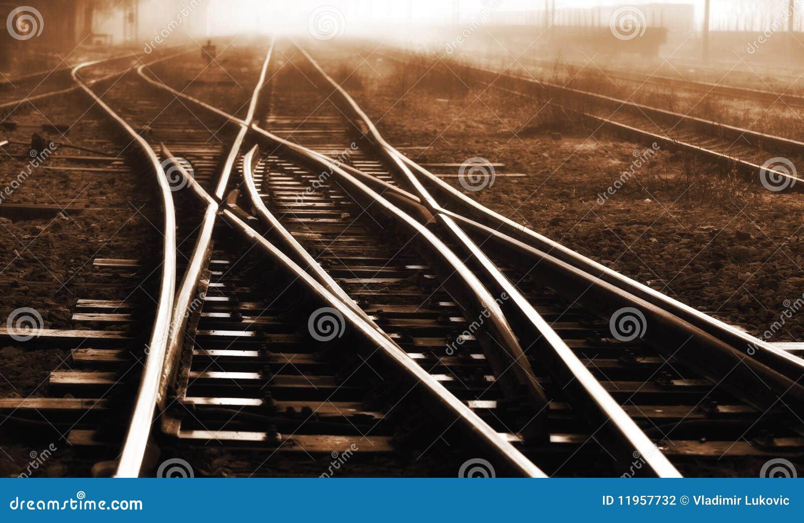Het spoor van de spoorweg
