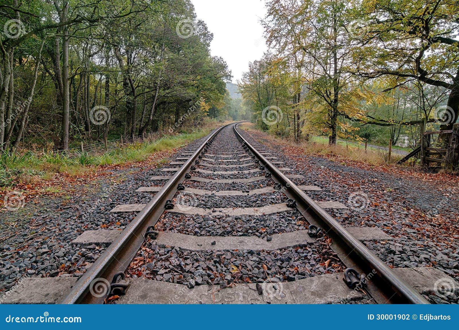 Het Spoor van de spoorweg (HDR)