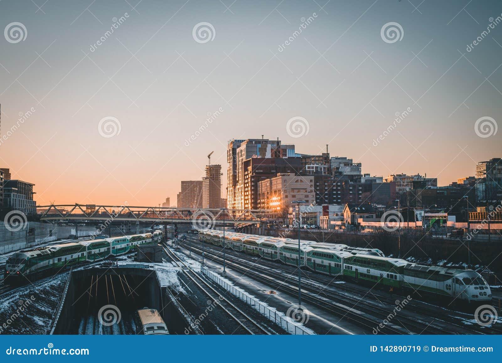 Het spoornetwerk van Toronto