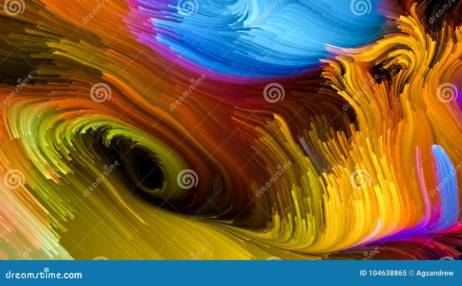 Het spreken van Vloeibare Kleur