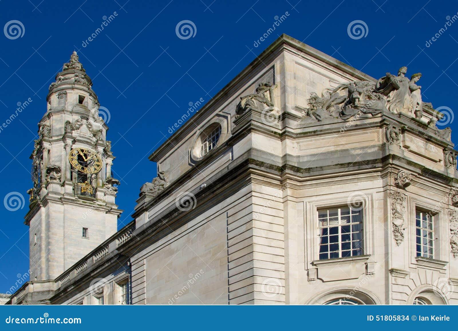 Het Stadhuis van Cardiff