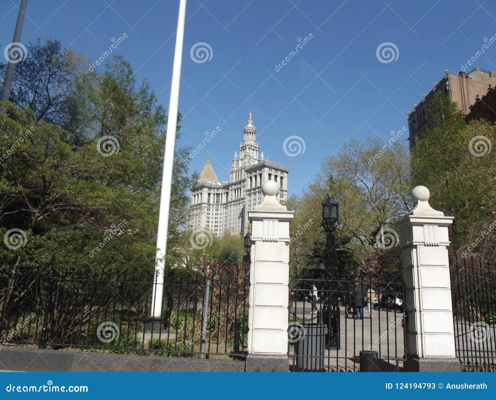 Het Stadhuis van New York