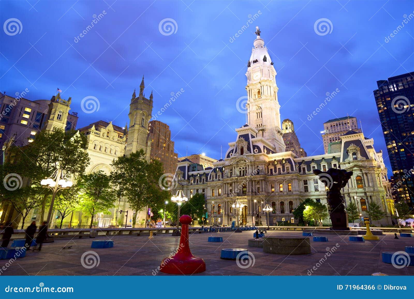 Het Stadhuis van Philadelphia