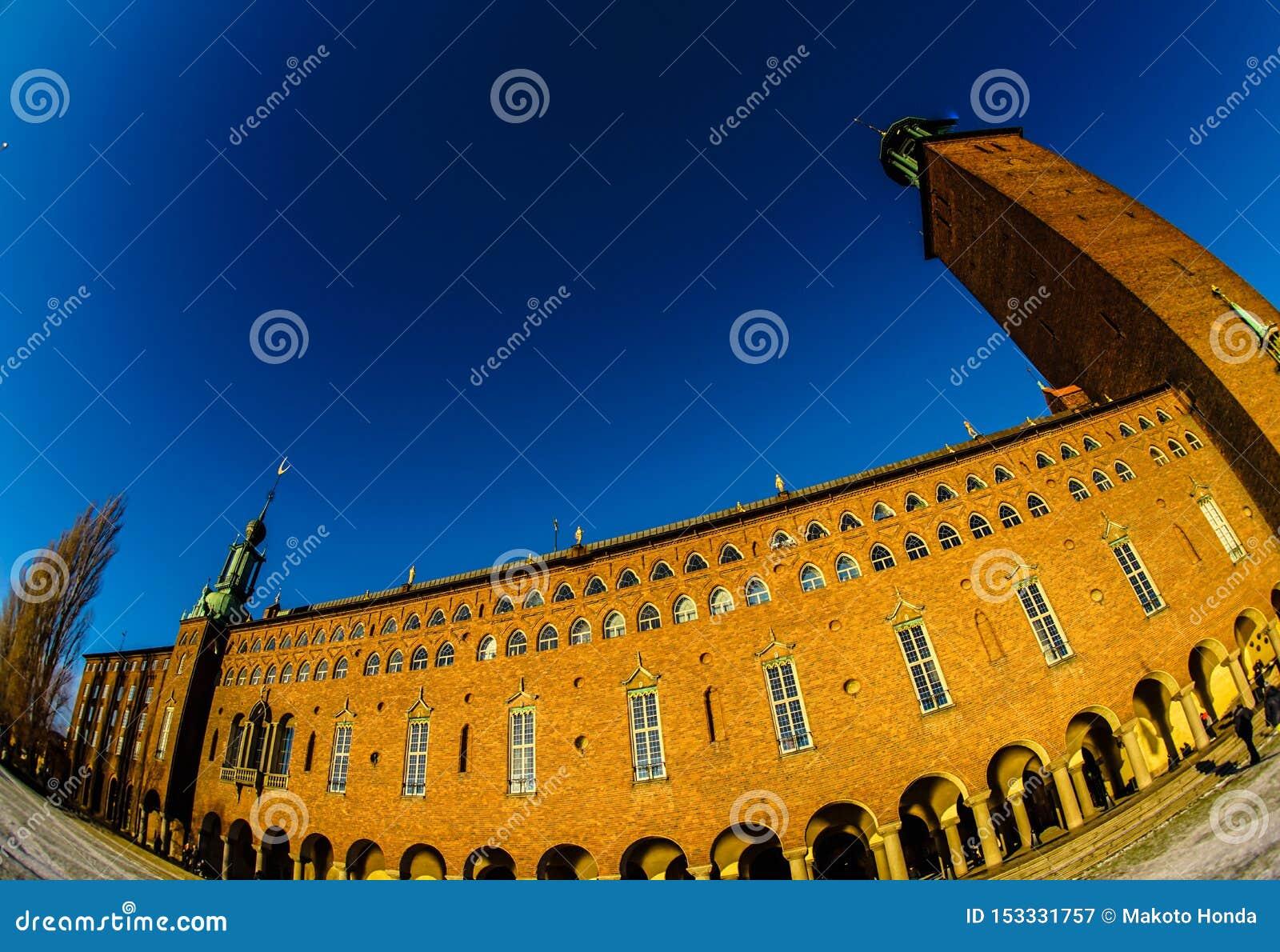 Het Stadhuis Zweden van Stockholm